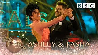 Ashley & Pasha Quickstep to 'Don't Rain on My Parade' from Funny Girl - BBC Strictly 2018