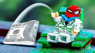 LEGO Spiderman Richest Man in Marvel 💸 Superhero Spider-man Animation