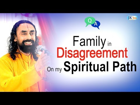 Family in DISAGREEMENT On My Spiritual Path - What to Do? | Q/A with Swami Mukundananda