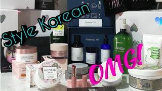Распаковка посылки от Style Korean. Elizavecca. Heimish. Aromatica. double dare. OMG! #stylekorean