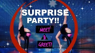 Surprise Party MEET & GREET! | The Rybka Twins