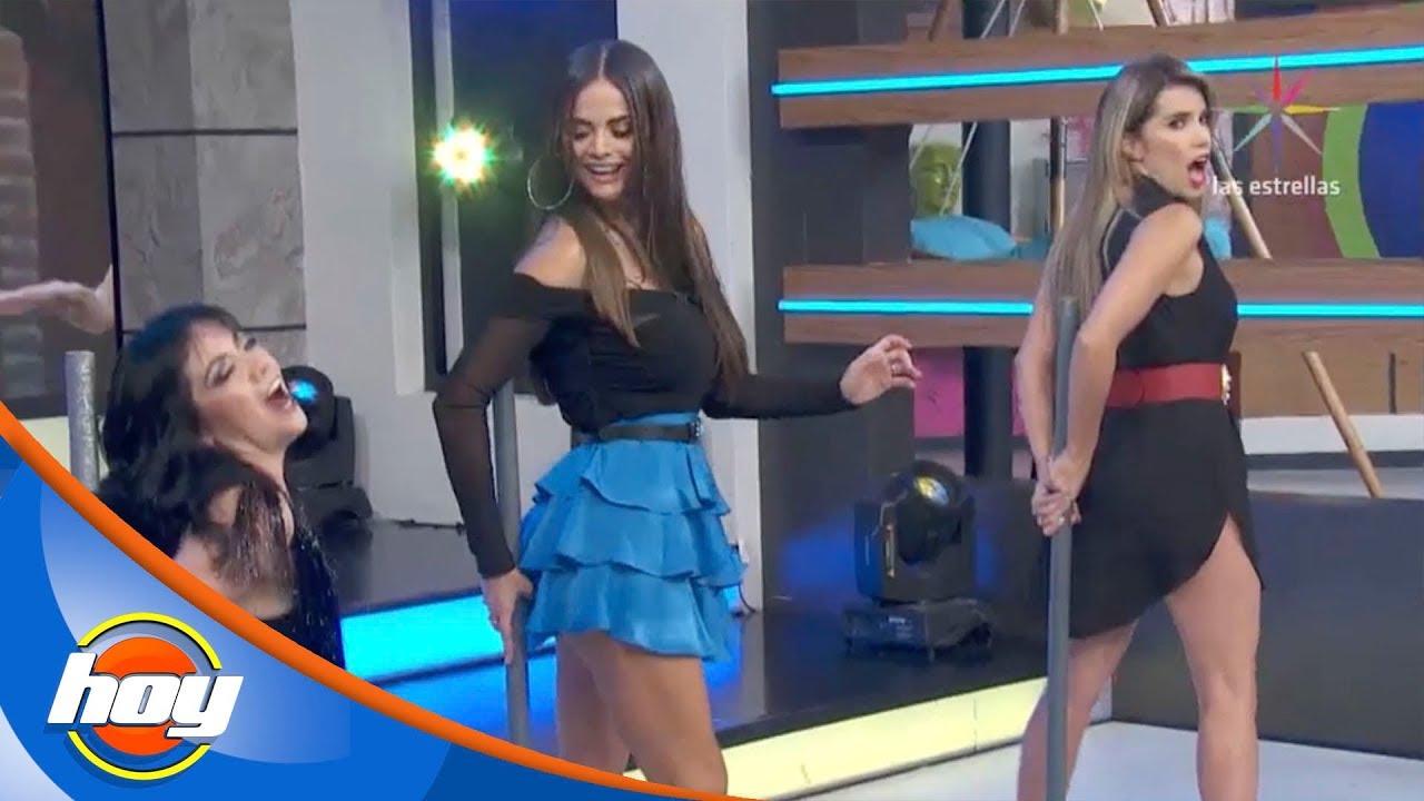 Andrea Escalona Desnuda andrea legarreta presume sensual baile en el tubo con