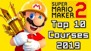 Super Mario Maker 2 TOP 10 COURSES of THE YEAR 2019 (Switch)