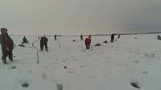 Рыбалка на Каме. Чистополь.  Отчёт 27.03.18
