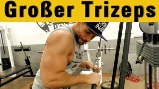 Trizepsübung für massive Arme - Muskelaufbau