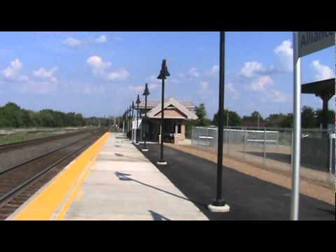 The New Alliance Ohio Amtrak Station