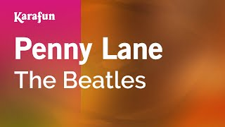 Karaoke Penny Lane - The Beatles *