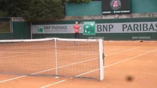 Lucie Safarova Practice #RG2015