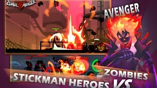 Zombie Avengers Stickman War Z Mod Apk Hack 2017 - Free Shopping/No Cooldown