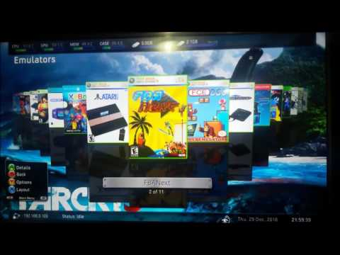 Emuladores para Xbox 360