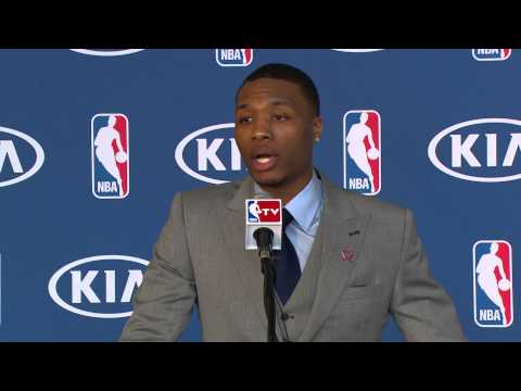Kia Rookie of the Year Damian Lillard Speech