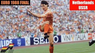 EURO 1988 Final Netherlands vs USSR Highlights