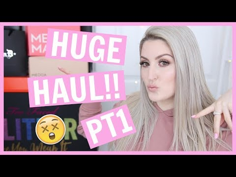 HUGE PR MAKEUP HAUL | KAT VON D | BOBBI BROWN | ESTEE LAUDER & MORE!!