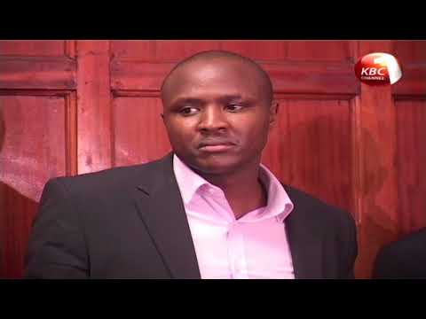 Nandi Hills MP Alfred Keter denies fraud charges