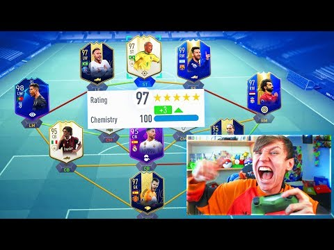 197 RATED!! - HIGHEST RATED FUT DRAFT EVER CHALLENGE!!! (FIFA 19)
