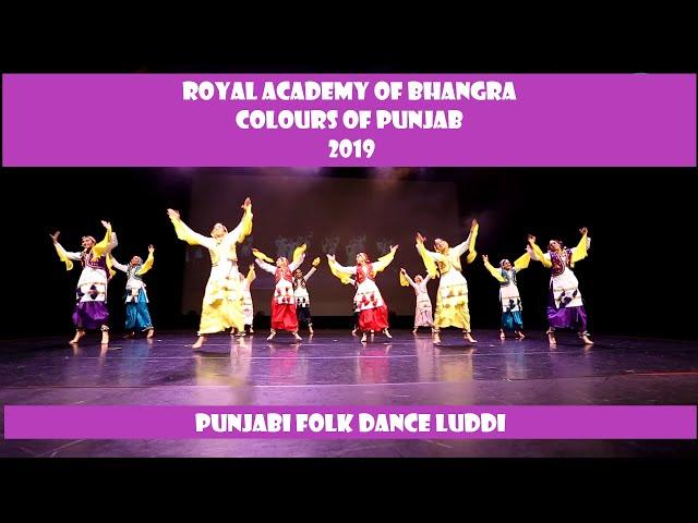 Royal Academy of Bhangra |Luddi| Colours of Punjab | 2019