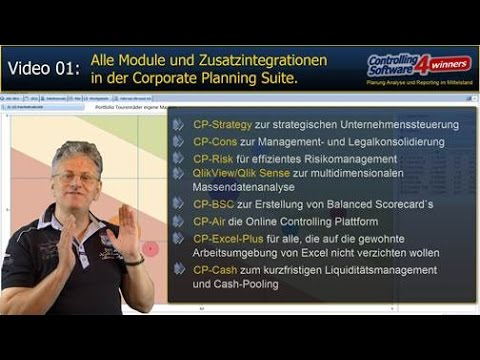 Corporate Planning Suite - Module und Integrationen der Controlling Software