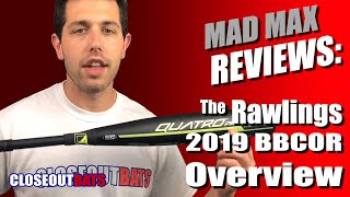 Closeoutbats.com 2019 Rawlings BBCOR Overview