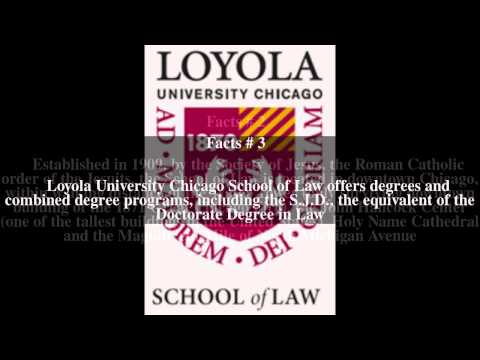 Loyola University Chicago School of Law Top # 5 Facts