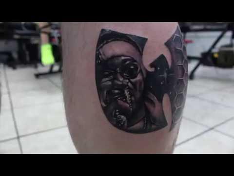 Tattoos in miami - Junkyard Studios Tattoo & Art Gallery - YouTube