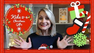 Christmas Gift Guide | Christmas Present Ideas For 2-4 Year Olds