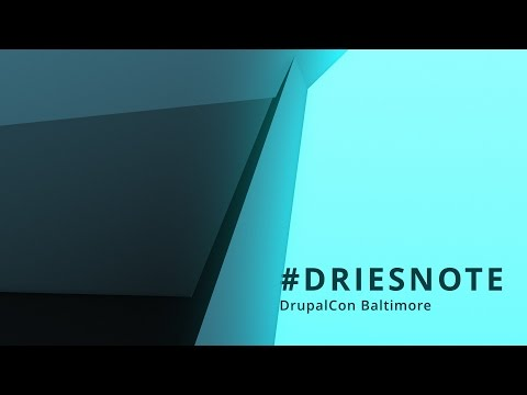 DrupalCon Baltimore 2017: Keynote