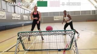 England Roses v Australian Diamonds : Challenge 2 - Crazy Netball