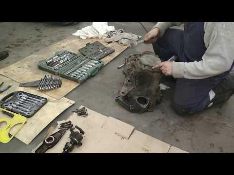 #Транспортер_Т4 снятие и разборка КПП двигатель 1,9