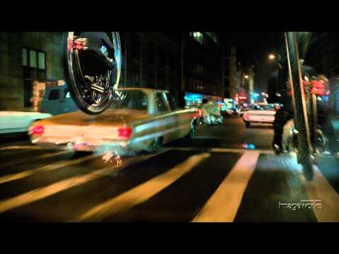 Men In Black 3: Monocycle Chase Shot-Build