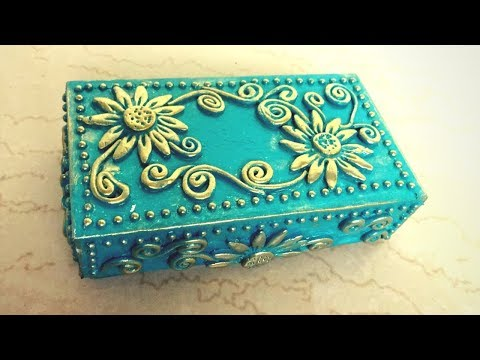 DIY: Jewellery Box using Cell Phone Cover / Easy Jewellery box