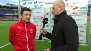 Sparta - Plzeň 2:0 rozhovor Václav Pilař