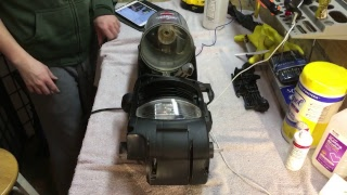 Bissel powerforce Bagless 6579-2 tear down and cleaning Part 1