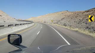BigRigTravels Interstate 70 West through the San Rafael Swell in Utah-Sept. 9, 2019