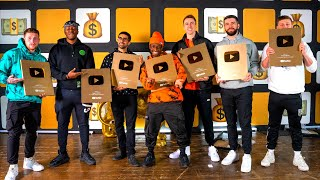 SIDEMEN 1,000,000 SUBSCRIBER Plaque Unboxing!