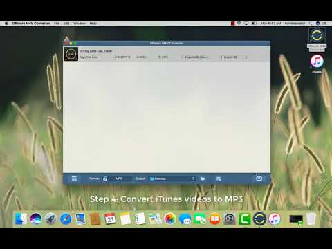 How to Convert iTunes M4V Videos to MP3 Format