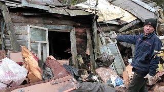В гостях у Плюшкина или как человек 60 лет собирал металл / RUSSIAN RUBBISH COLLECTOR