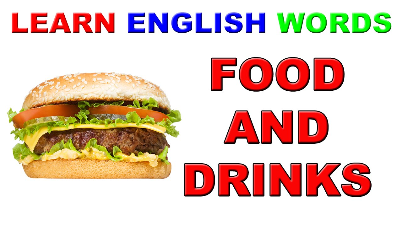 Food And Drink: Learn English Words - YouTube