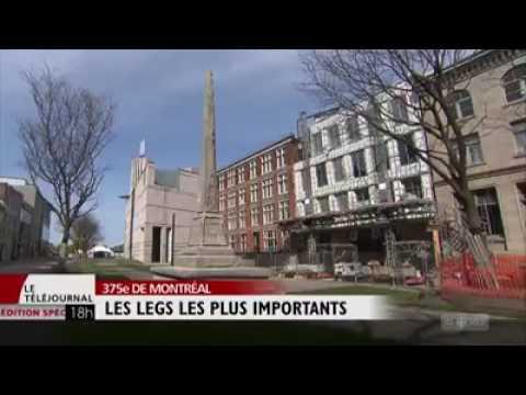 Portrait des projets les plus importants pour la ville de Montréal à l'occasion du 375e anniversaire