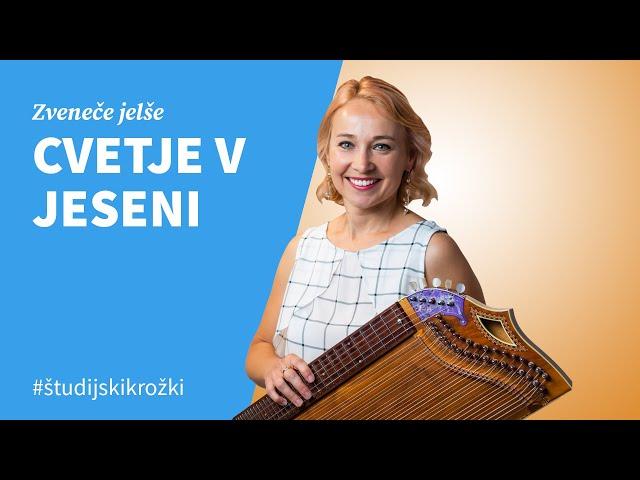 CVETJE V JESENI, Jasmina Levičar