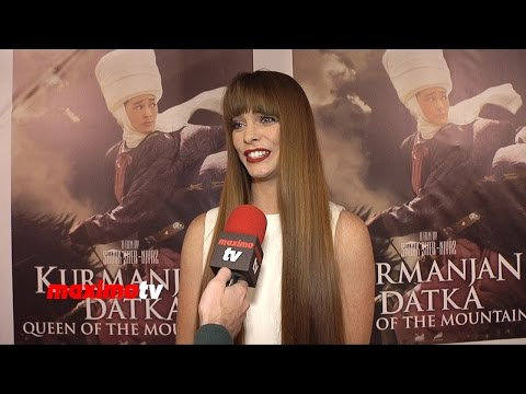 Chloe Hurst Interview   Queen Of The Mountains Premiere   Red Carpet