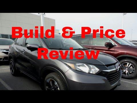 Honda Build And Price >> 2018 Honda Hr V Crossover Suv Build Price Review