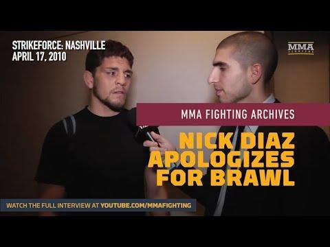 MMA Fighting Archives: Nick Diaz Apologizes For Infamous Nashville Strikeforce Brawl