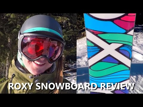 Roxy Women's Snowboard Review with Margarita