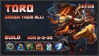 Strike of Kings: Toro MVP, Smash them to the Ground!