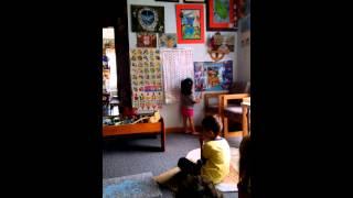"""Детский сад """"ПРОГРЕСС""""- занятия по плакату""""Домашние животные и птицы"""""""