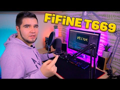 🔥Fifine T669 - ТОП микрофон за 50$ с офигенным комплектом аксессуаров! 🔥РЕАЛЬНО ПУШКА!