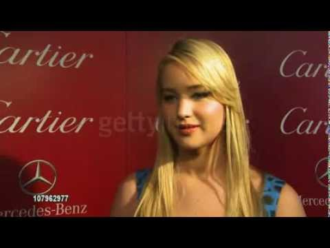 Jennifer Lawrence INTERVIEW at the 22nd Annual Palm Springs International Film Festival Awards Gala
