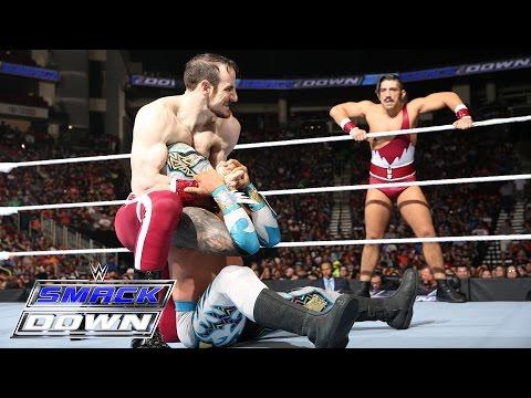 The Lucha Dragons vs. The Vaudevillains: SmackDown, April 7, 2016