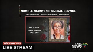 Nomhle Nkonyeni Special Provincial Funeral Service, 19 July 2019