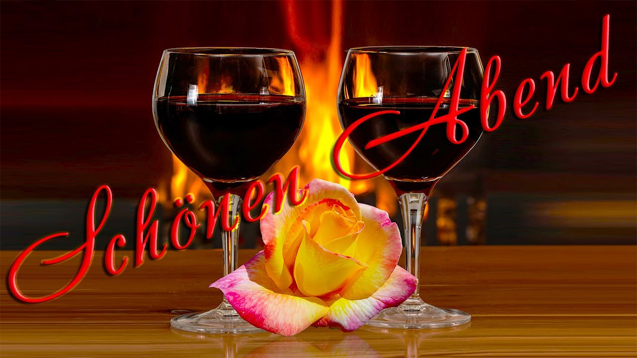 Entspannten abend einen wünsche Guten Abend